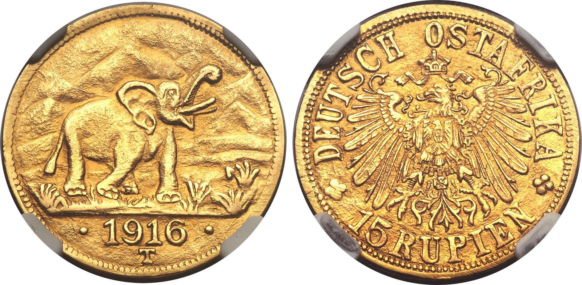 Eine Aufnahme zeigt die Münze, die Geremskel ausgewählt hat