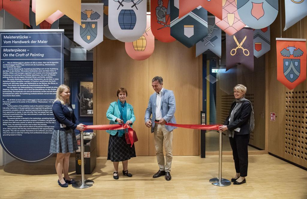 Ausstellungseröffnung Meisterstücke (c) HMF, Petra Welzel