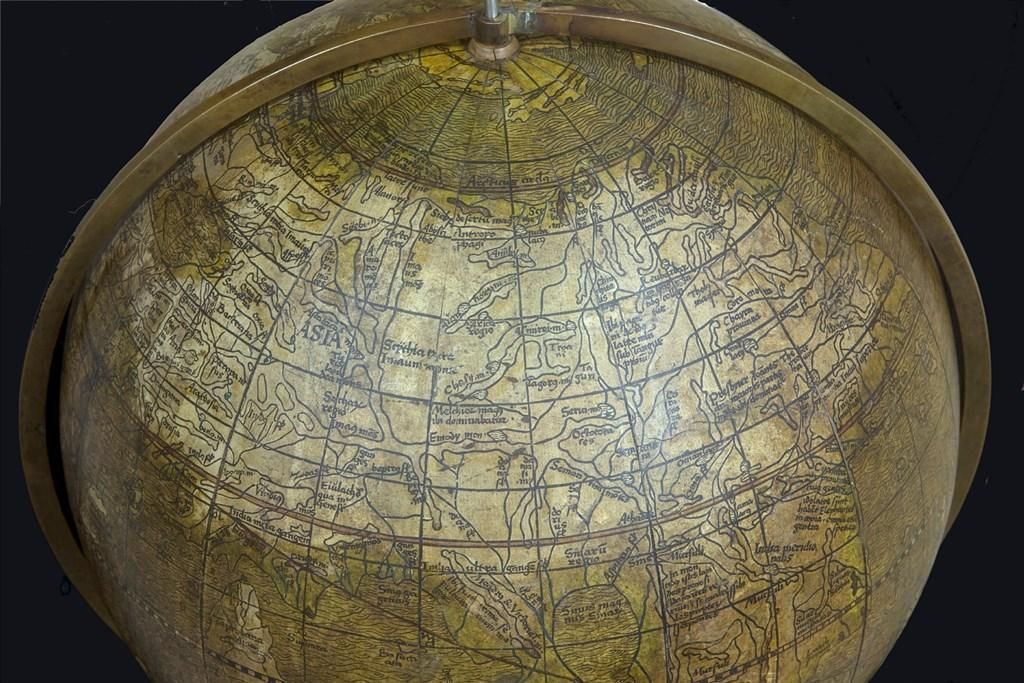 Nahaufnahme des Schöner Globus c HMF, Uwe Dettmar