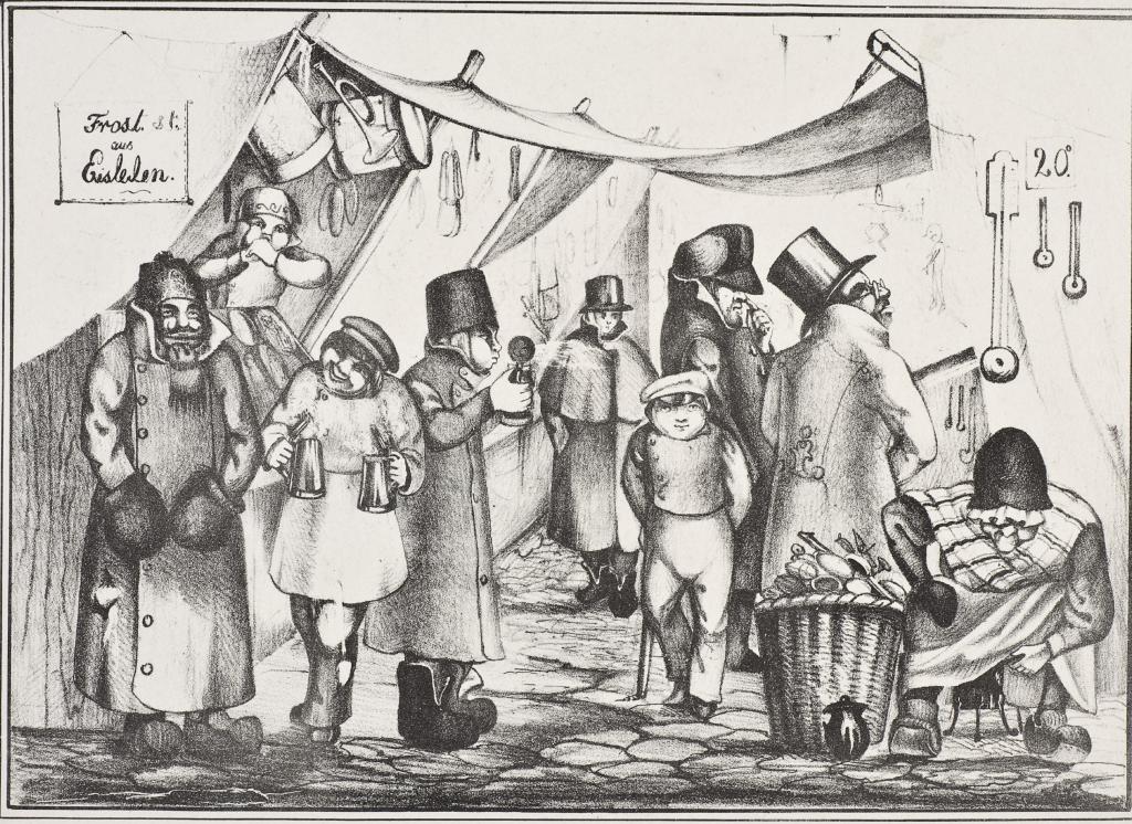 Frankfurter Östermesse 1845 © HMF Horst Ziegenfusz