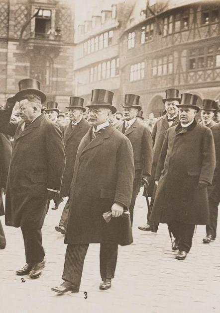 Parlamentsfeier in Frankfurt am 18. Mai 1923 zur Erinnerung an der 75. Geburtstag der ersten deutschen Nationalversammlung © HMF Horst Ziegenfusz