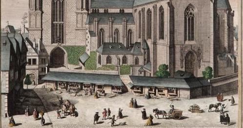 Bartholomäus Dom kolorierter Kupferstich (c) HMF