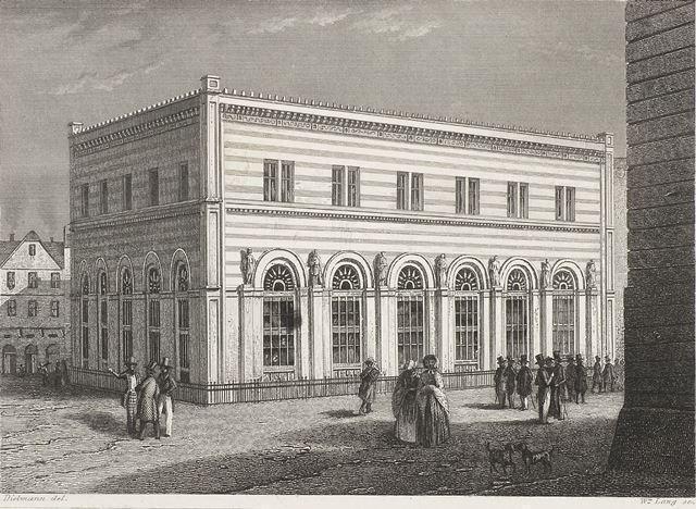 Die Börse Stich um 1900 © HMF Horst Ziegenfusz
